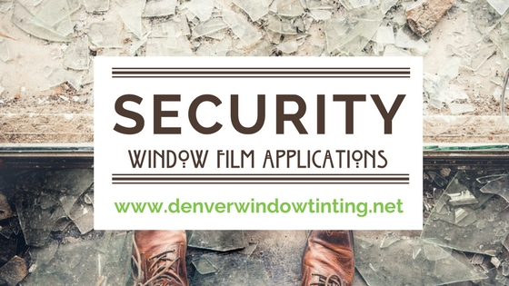 security window film denver