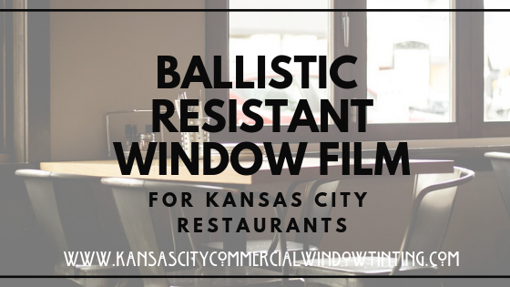 Ballistic Resistant Window Film the next best to bulletproof denver