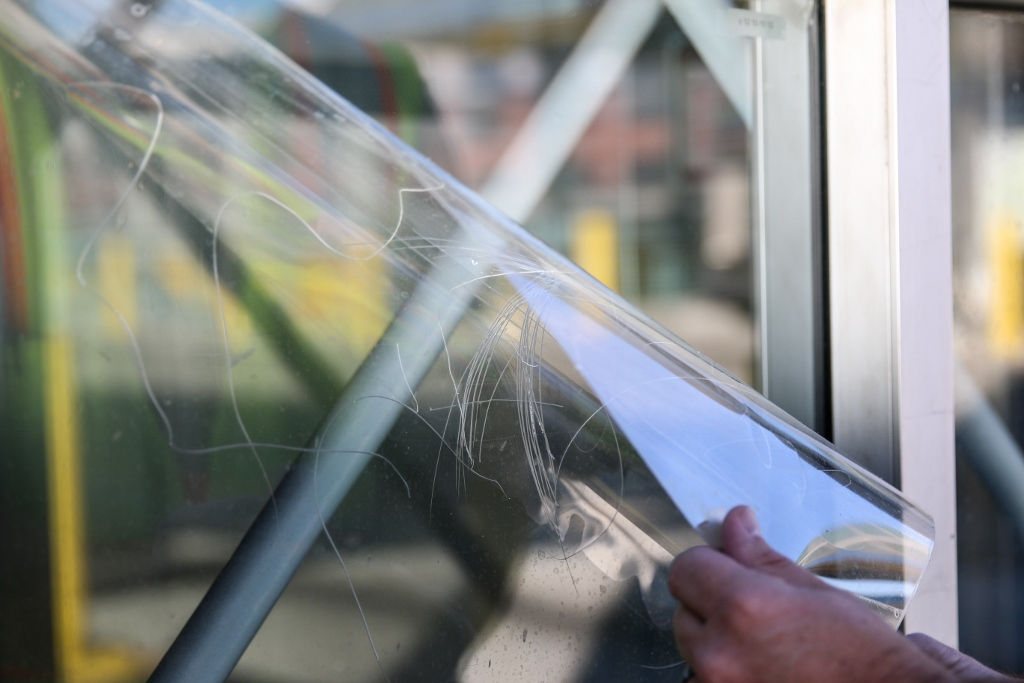 window film cleaning care